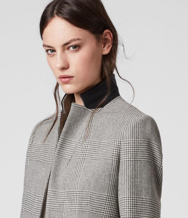 Leni Check Coat
