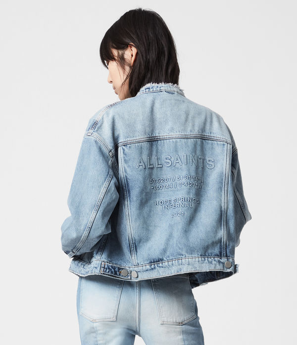 Hope Springs Infernal Denim Jacket