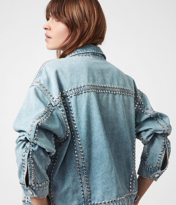 Bella Studded Denim Jacket