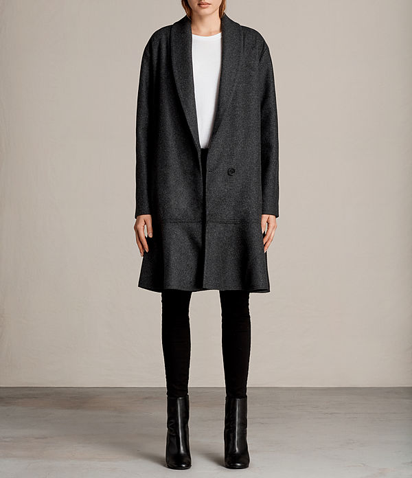 Grace Ruffle Coat