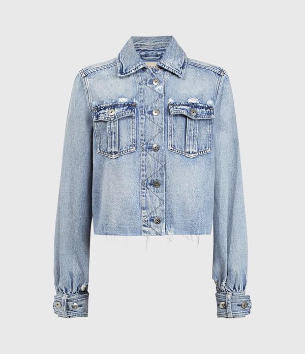 Maisy Denim Shirt Jacket
