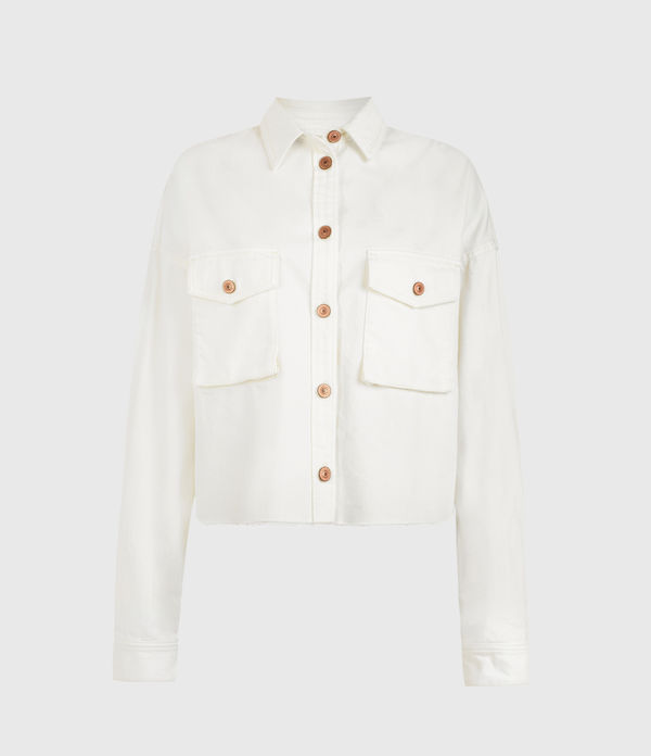 Sol Denim Shirt Jacket