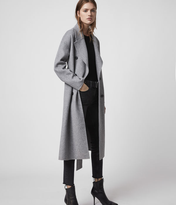 Trench en Laine Maddison
