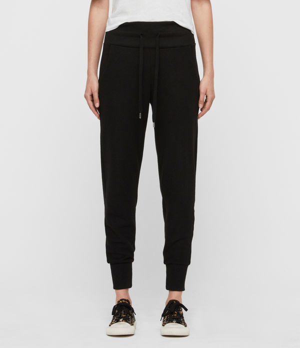 Darcia Brushed High-Rise Joggers