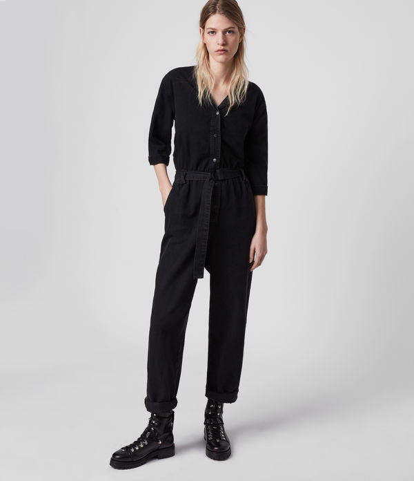 Lora Denim Jumpsuit