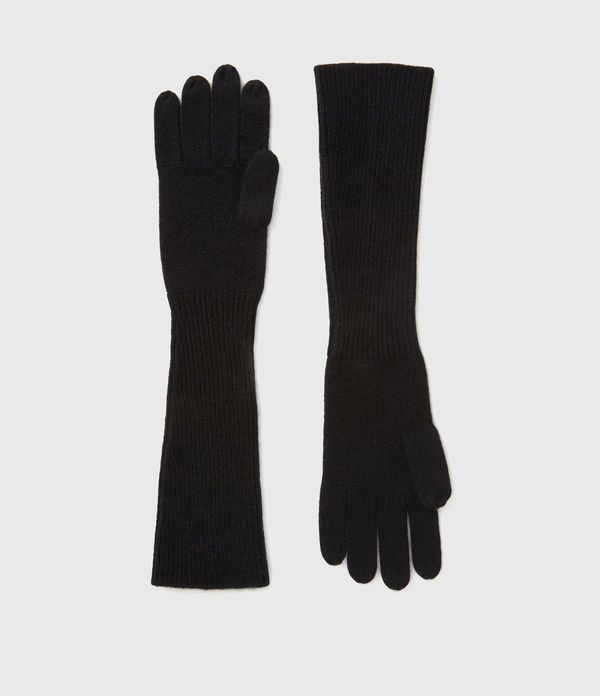 Gants Longs en Laine & Cachemire Needle