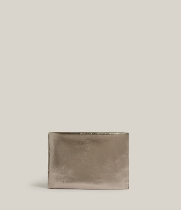 Bettina Leather Clutch Bag