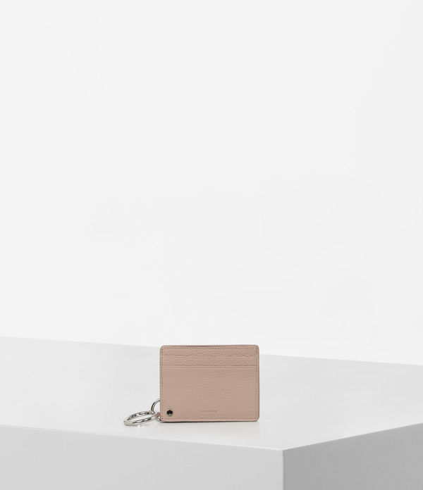 fetch leather mirror card holder