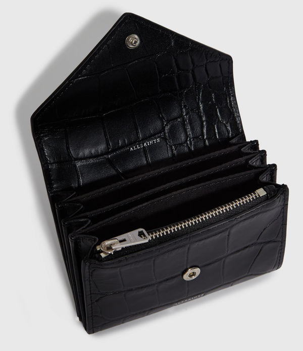 Polly Flap Leather Cardholder