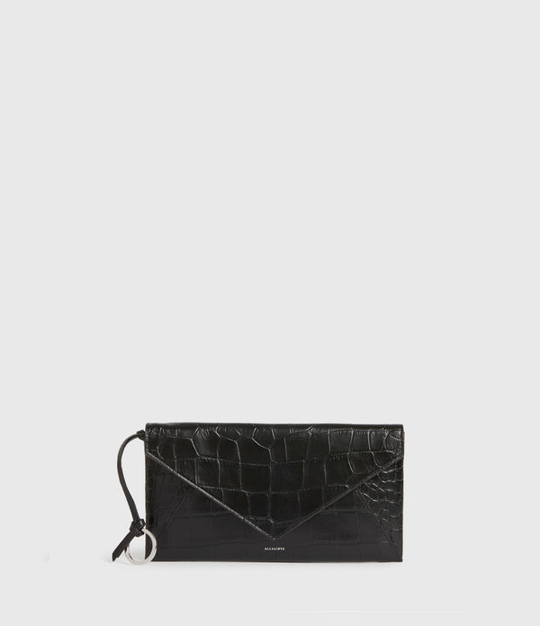 Polly Leather Envelope Wallet