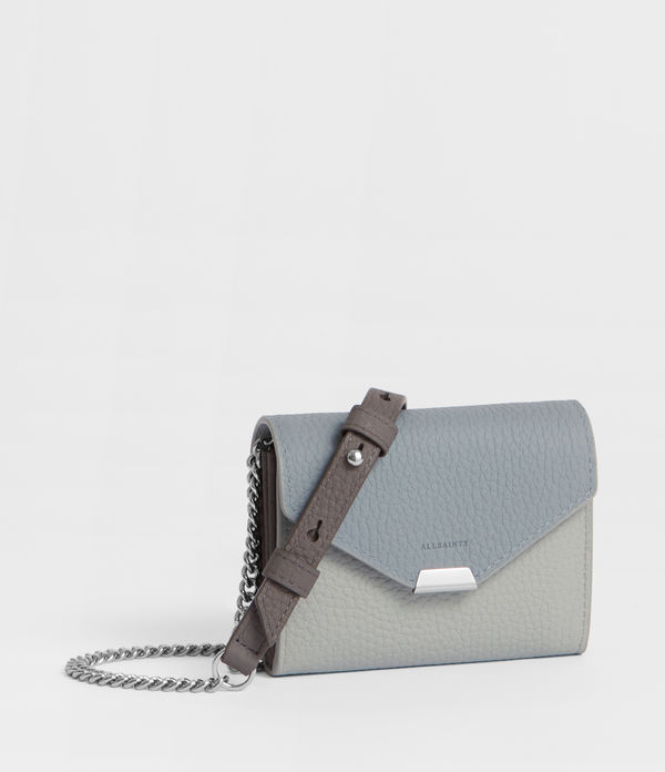 Captain Leather Chain Cardholder