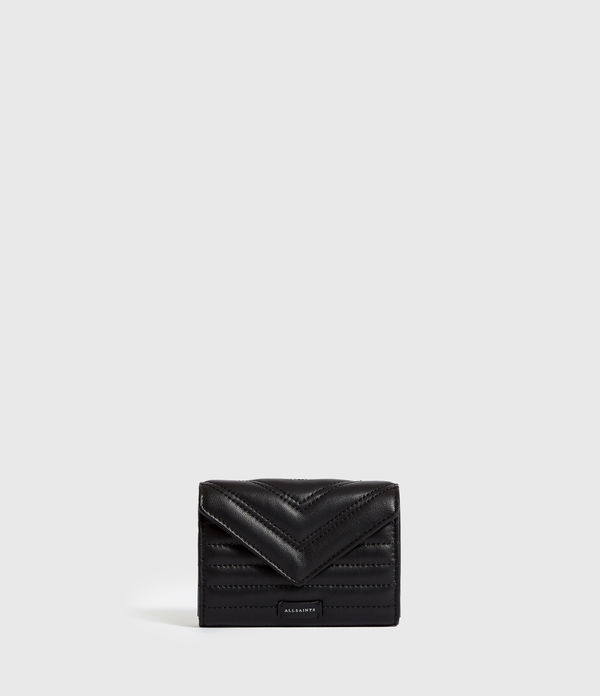 Justine Flap Leather Cardholder