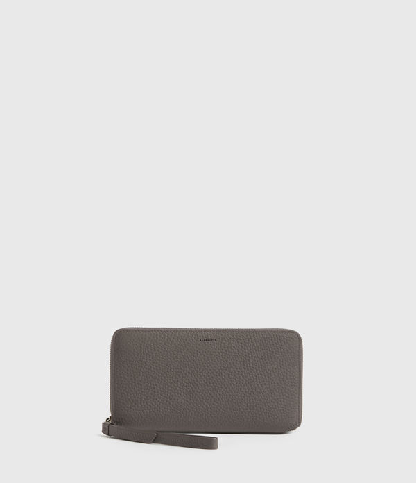 Fetch Phone Leather Wristlet
