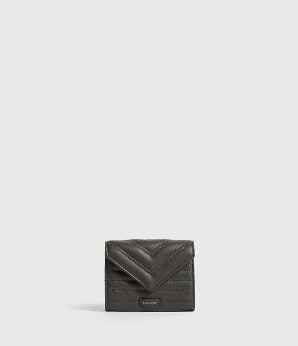 Justine Flap Leather Cardholder