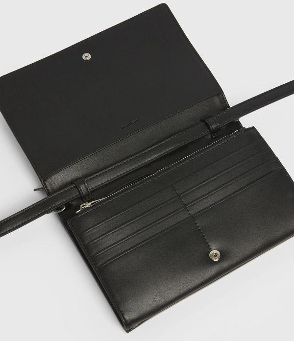 Claremount Leather Chain Crossbody Bag