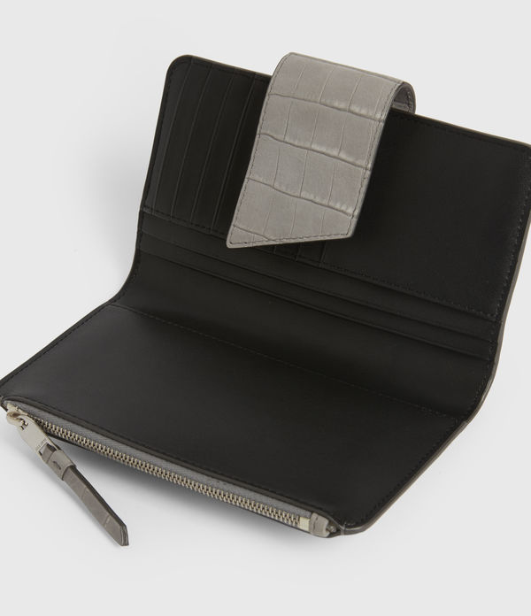 Ray Crocodile Leather Wallet