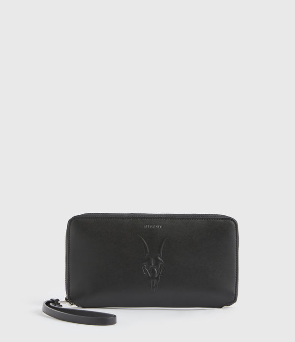 luke leather phone wristlet