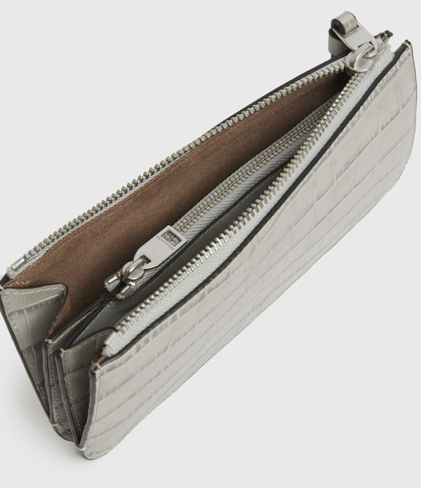 St James Crocodile Leather Wallet
