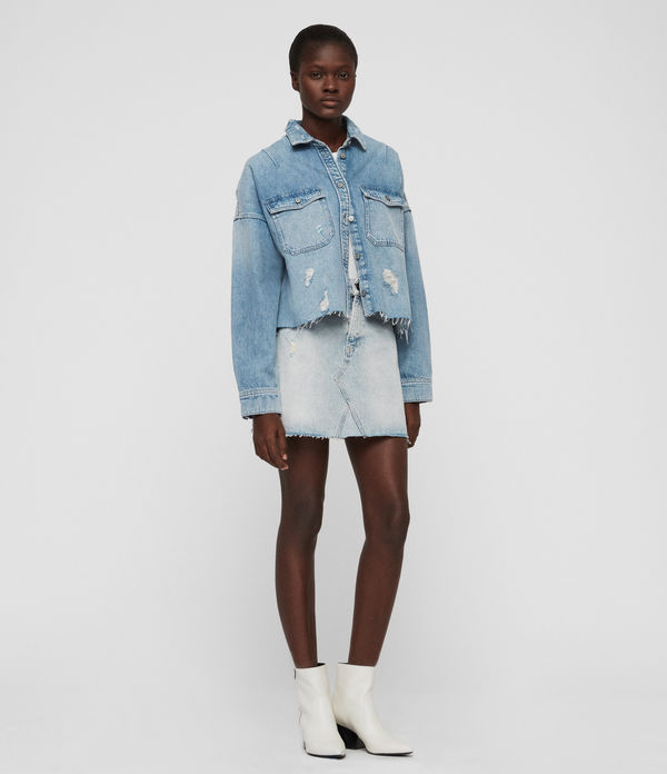 mae denim skirt