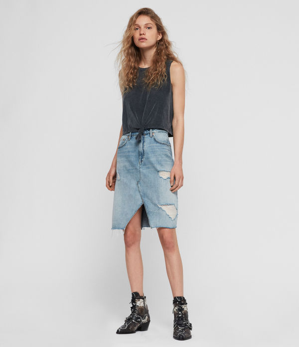 Alfie Denim Skirt
