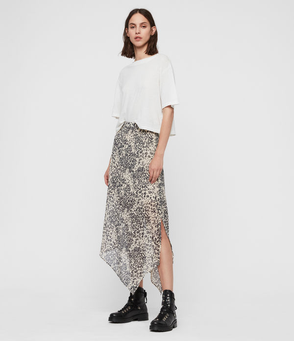 Rhea Patch Skirt