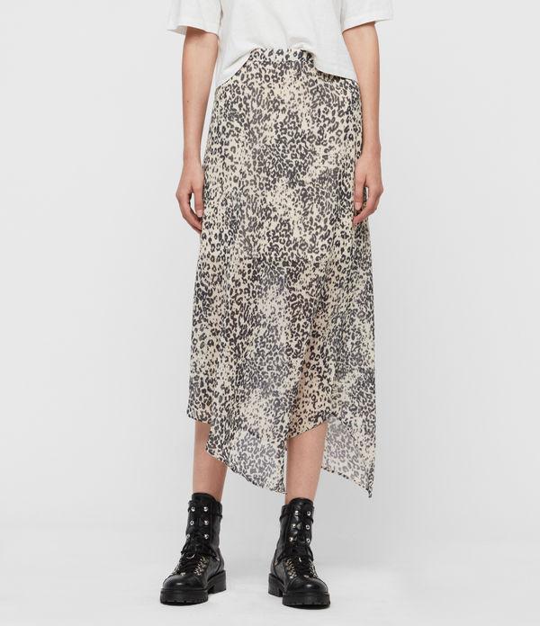 Rhea Patch Skirt