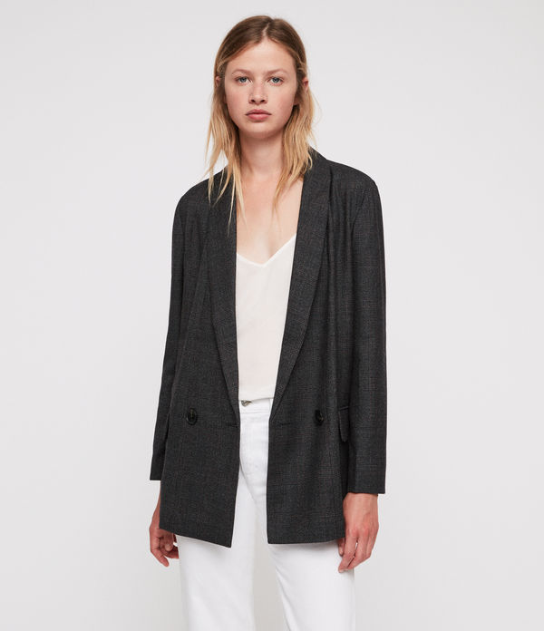 Harriet Check Blazer