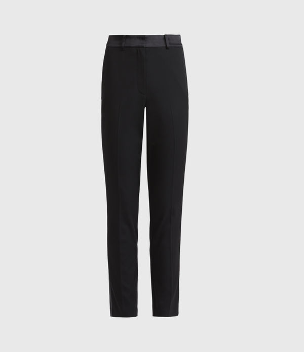 Sofia High-Rise Slim Trousers