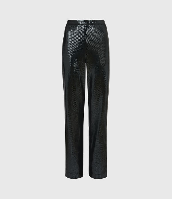 Leanna Mid-Rise Relaxed Trousers