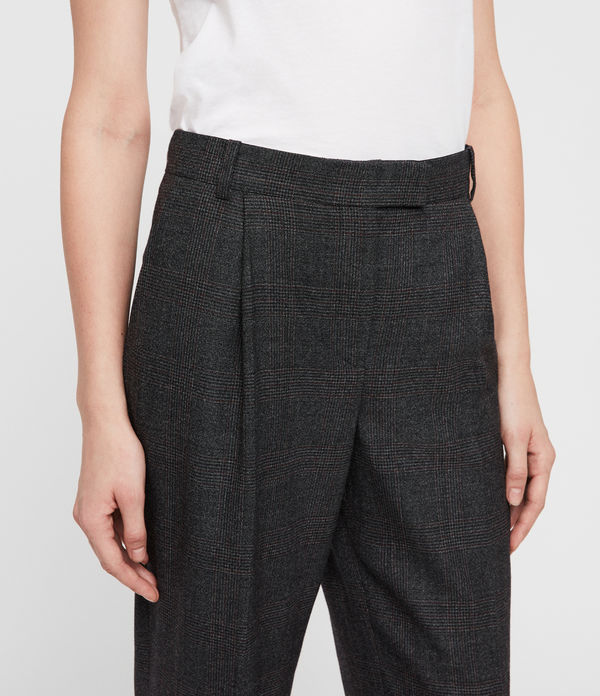 Harriet Check Trousers