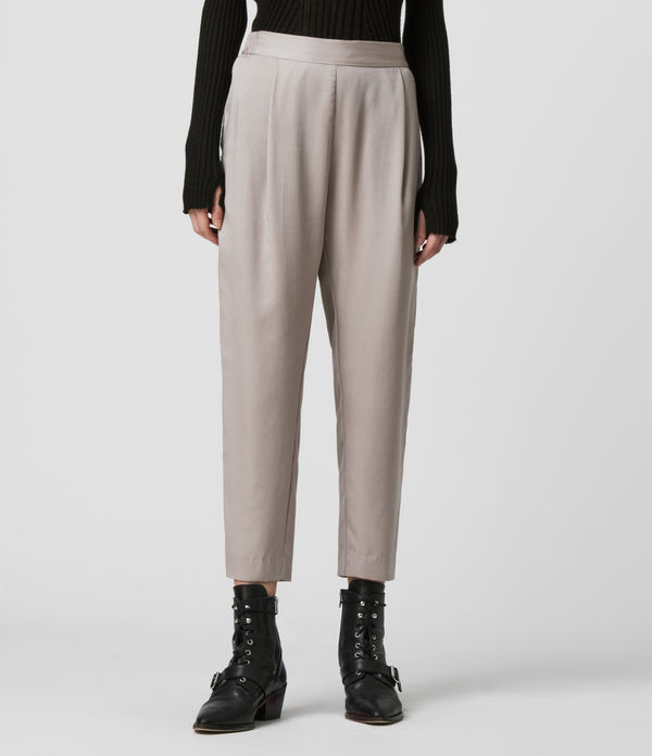 Alva Tapered Low-Rise Trousers