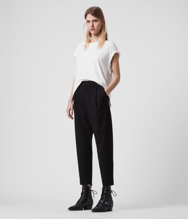 Aleida Tri Low-Rise Trousers