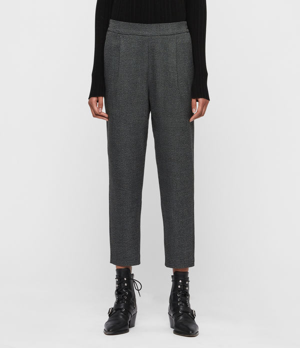 anneka check trousers
