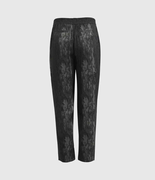 Neve Low-Rise Tapered Snake Pants