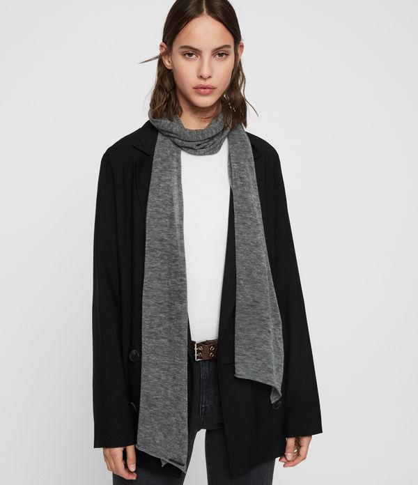Fine Gauge Wool Scarf