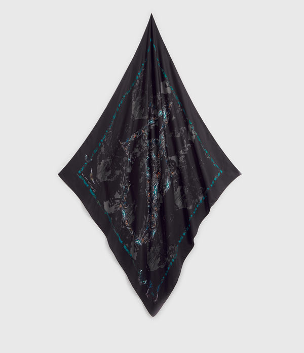 Allofaflutter Large Square Silk Scarf