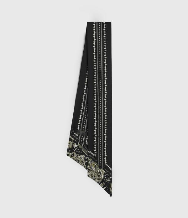 Odisha Silk Skinny Scarf