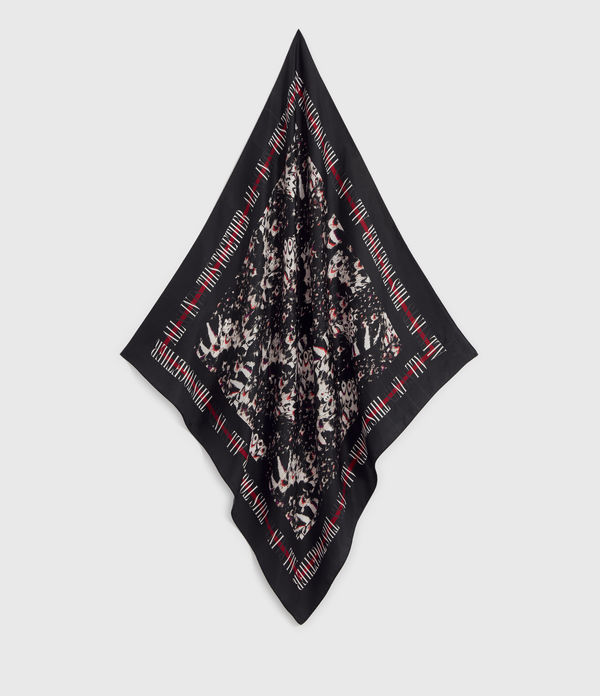 Allinthis Large Square Silk Scarf
