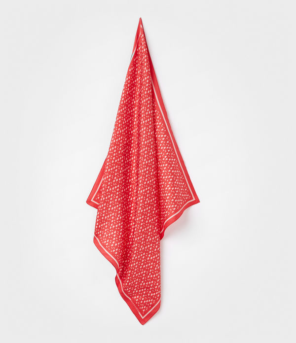 Heart Silk Bandana