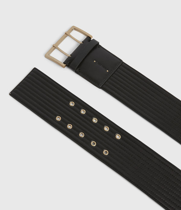 Willow Wide Leather Belt