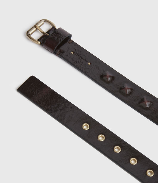 Lita Skinny Leather Belt