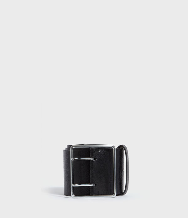 aline leather belt