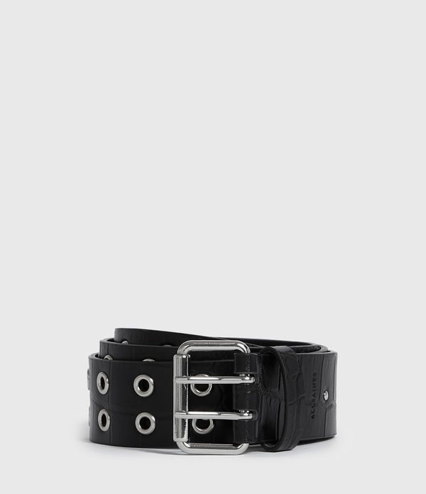 Andree Crocodile Leather Belt