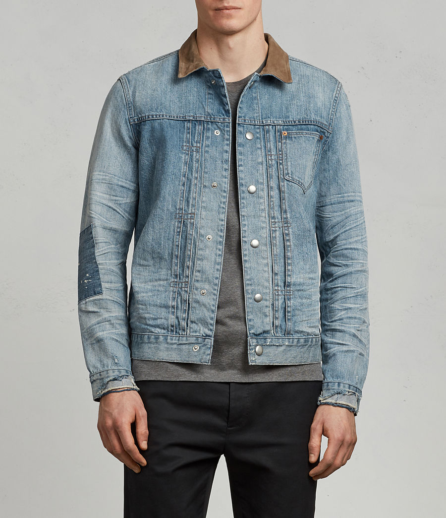 Mens Ibanez Denim Jacket (indigo) - Image 1
