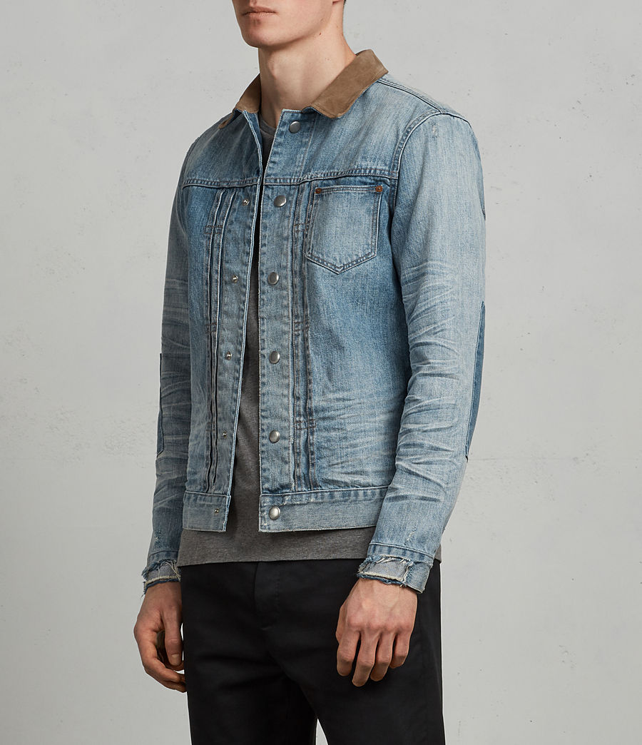 Mens Ibanez Denim Jacket (indigo) - Image 3