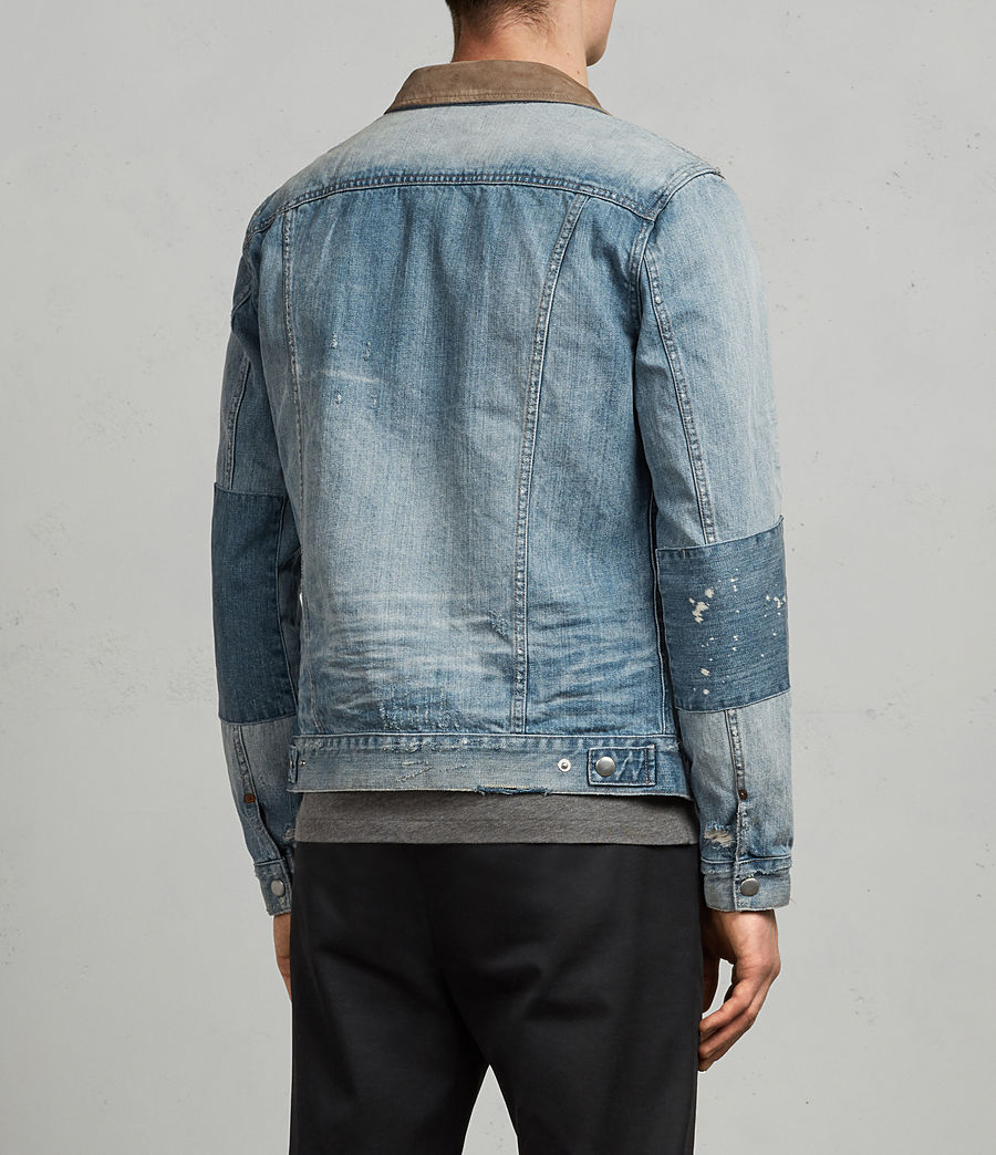 Men's Ibanez Denim Jacket (indigo) - Image 6