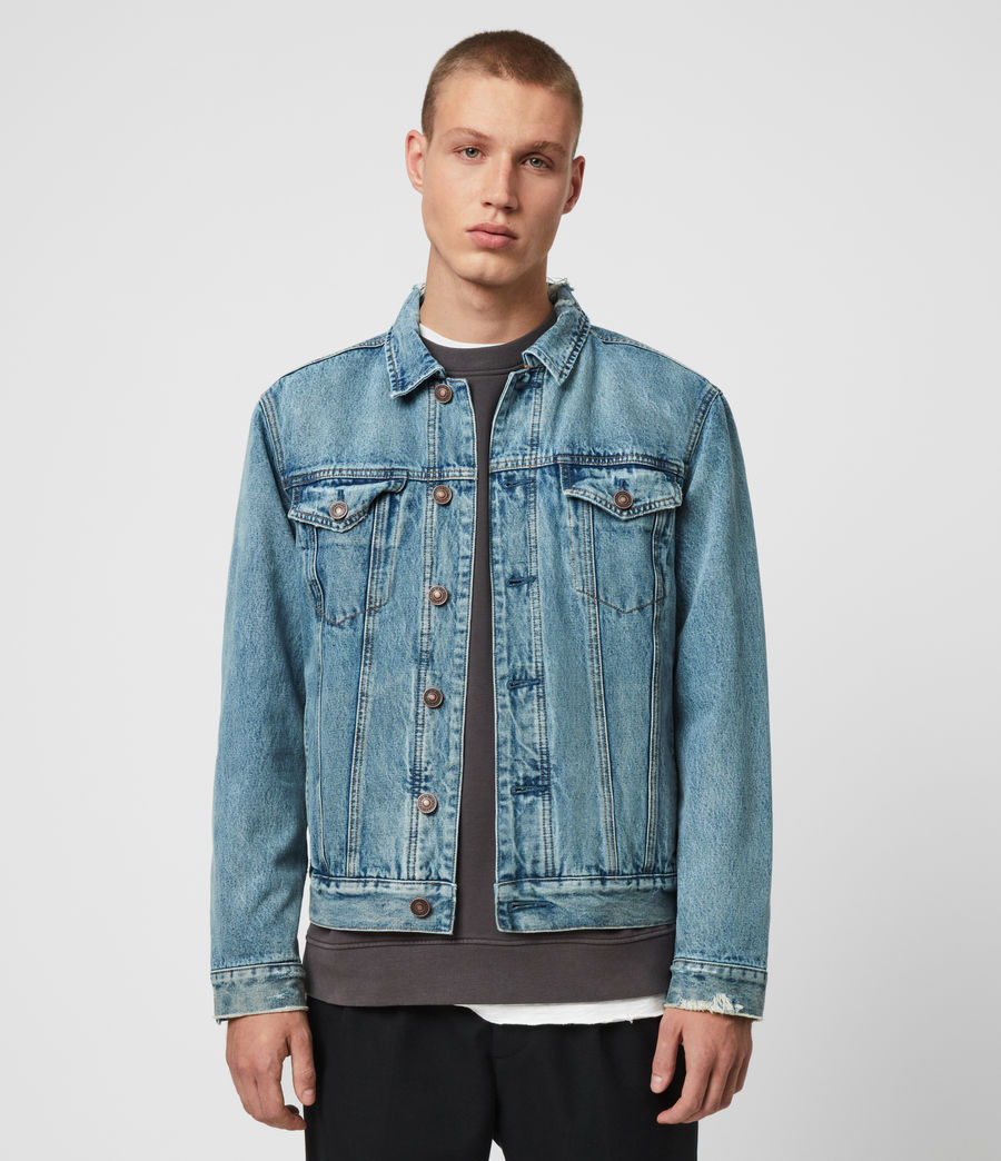 Mens Danby Denim Jacket (indigo) - Image 1