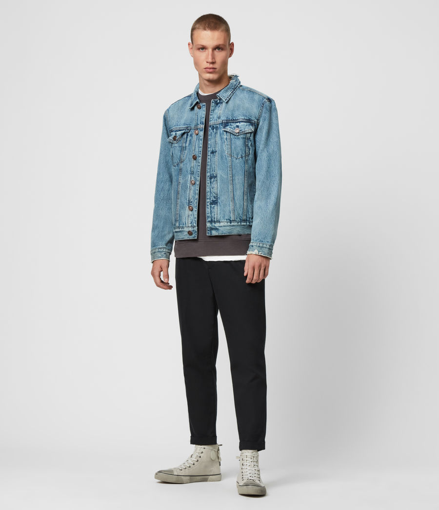 Mens Danby Denim Jacket (indigo) - Image 3