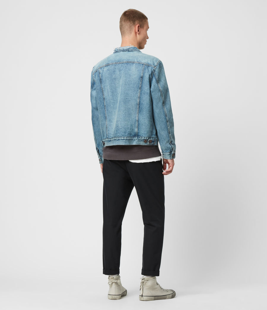 Mens Danby Denim Jacket (indigo) - Image 5