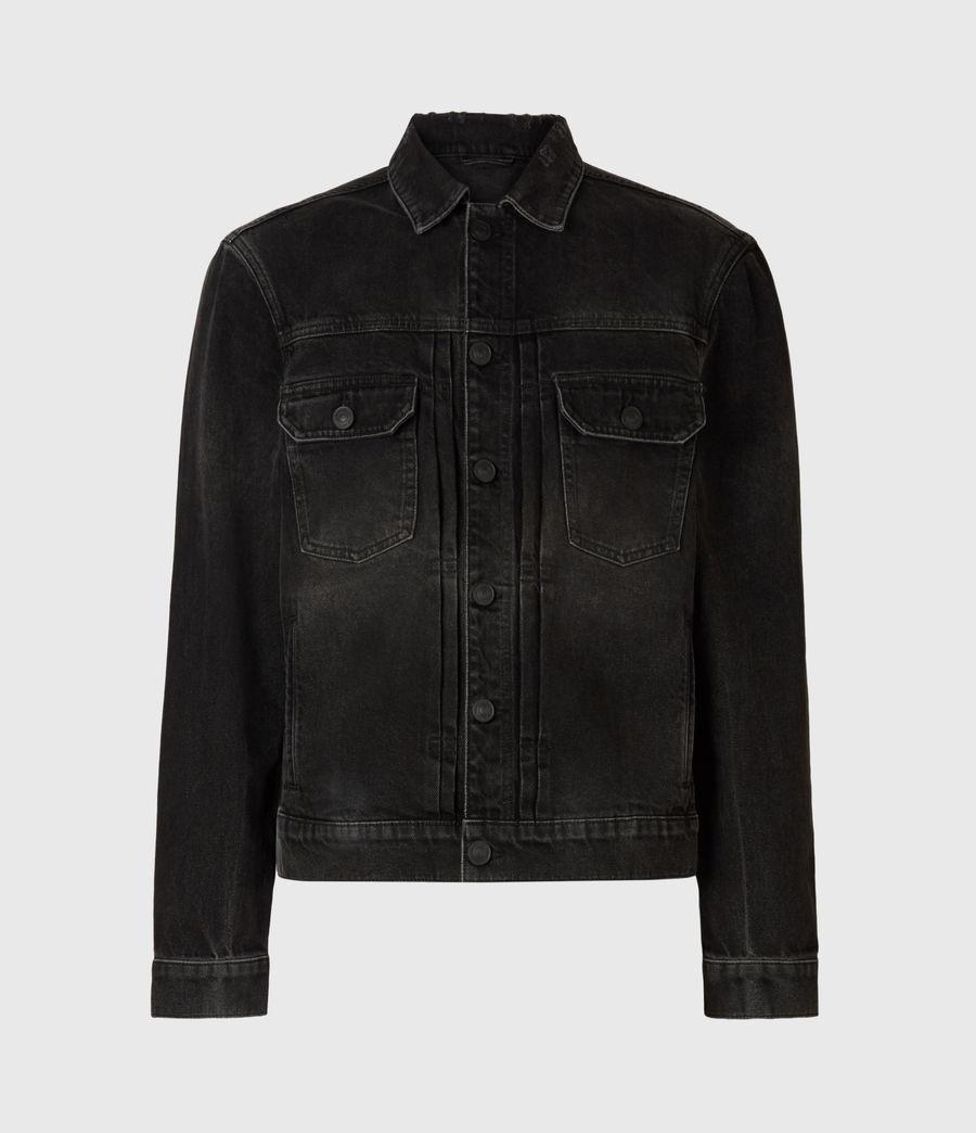 Mens Bocana Denim Jacket (black) - Image 2